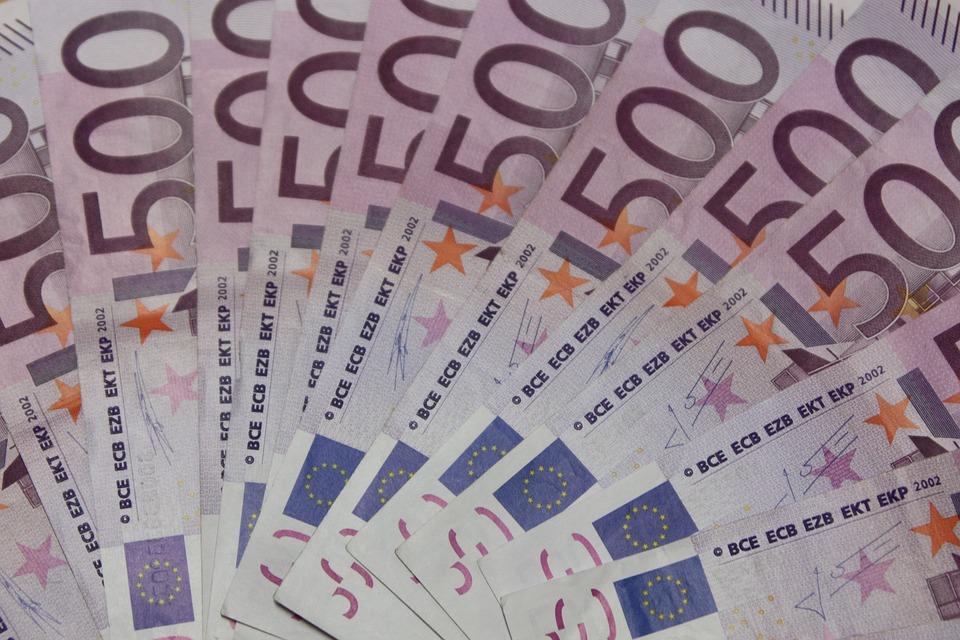 eura pětistovky