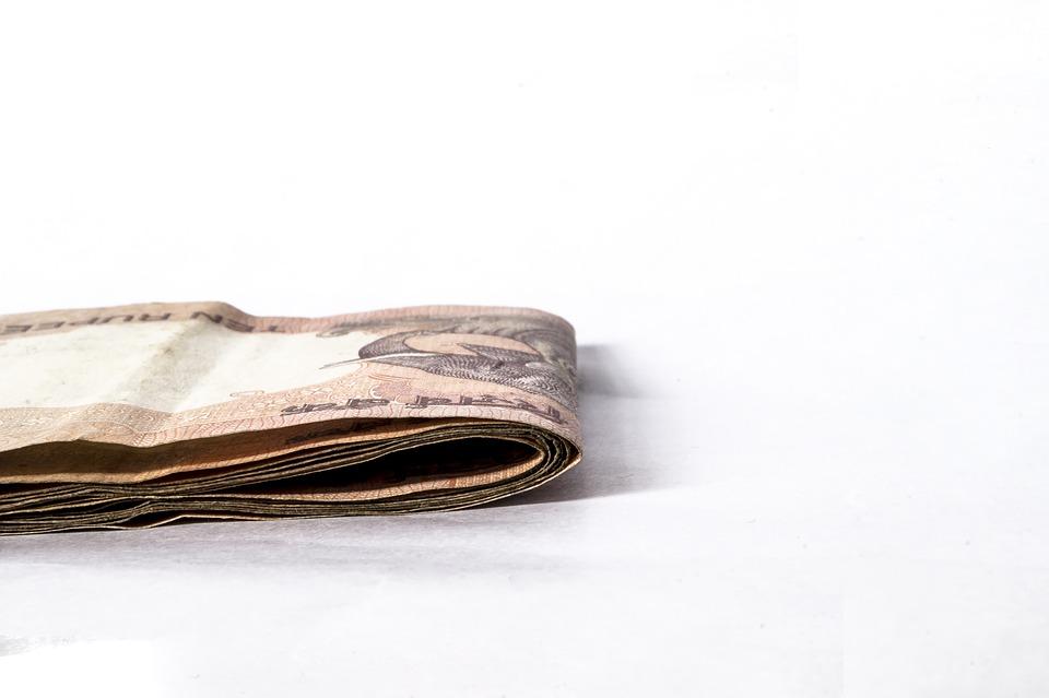 přeložené peníze